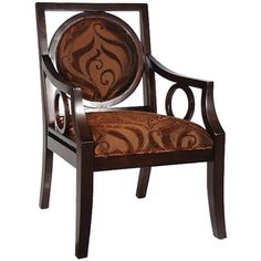 Copper Accent Armchair by Art Frame Direct