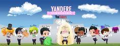 Yandere Simulator - Youtubers crossover by Yukipengin