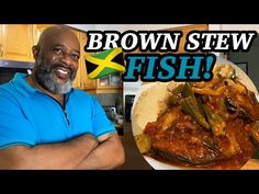 How to make BROWN STEW FISH! | Deddy's Kitchen - YouTube Recipes With Fish And Shrimp, Fish And Seafood, Shrimp Recipes, How To Make Brown, Jamaican Recipes, Food Videos, Stew, Turkey, Chowders