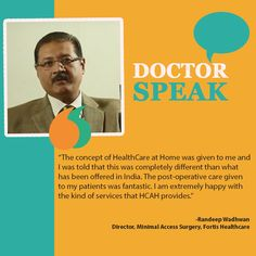 DoctorSpeak Home-based healthcare has revolutionised Indian healthcare system.