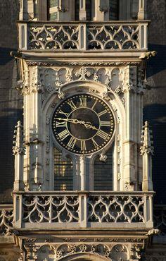 Town hall of Oudenaarde, Belgium