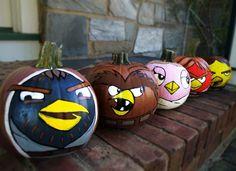 star wars angry bird pumpkins