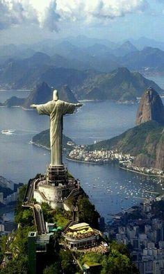 Rio do Janeiro, Brazil. Cristo Redentor.