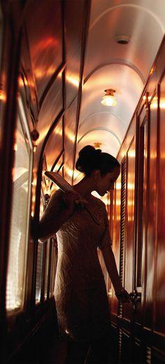 Rendezvous ●Romance on the Orient Express●♔LadyLuxury♔ By Train, Train Car, Train Rides, Train Travel, Train Trip, Girl Train, Paris, Istanbul, Milan Kundera
