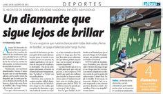 Este es el tratamiento que se le da en Chile al Béisbol... #abandono...