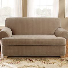 canadian tire slipcover haliblurtin throughout sizing 2560 x t cushion sofa slipcovers 3 piece. sure fit stretch plush cream t-cushion chair slipcove Cool Couches, Slipcovered Sofa, Cushions, Love Seat, Sofa, Cushions On Sofa, Contemporary Sofa, Sofa Set, Loveseat Slipcovers