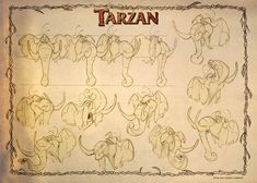 Category: Model Sheets - Character Design Page