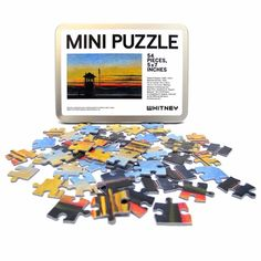 Whitney Museum Shop - Edward Hopper Railroad Sunset Mini Puzzle