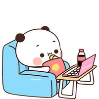 Cute Panda Cartoon, Cute Anime Cat, Cute Cartoon Characters, Cute Cartoon Pictures, Cute Love Pictures, Baby Animal Drawings, Cute Bear Drawings, Cute Animal Drawings Kawaii, Cute Cartoon Drawings
