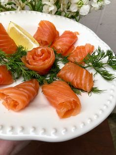 Norwegian Gravlax (How to Cure Salmon) – The Rose Table