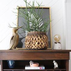 c39f86ef36e5 Vintage Loop Basket - Holistic Habitat