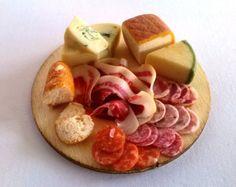 Dolls House Food: Miniature Food Handmade Realistic by TheWeeDeli