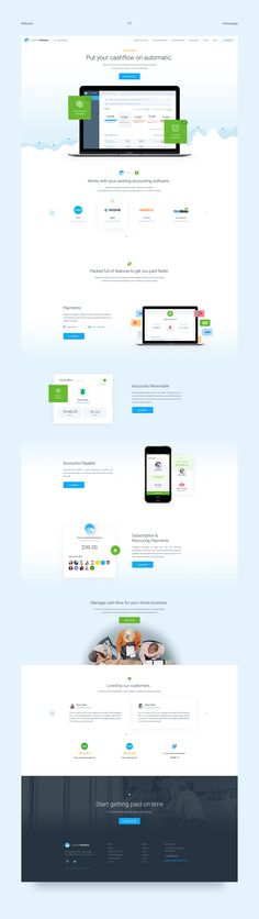 Invoice Sherpa - Website Design