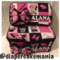 Minnie Mouse baby wipe set