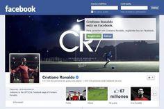 Como contatar Cristiano Ronaldo via Facebook