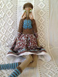 Тильда Юлии Сотниковой - 22 Августа 2014 - Кукла Тильда. Всё о Тильде, выкройки, мастер-классы.