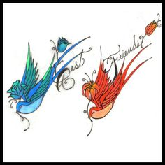 Friendship Tattoos For Girls | Pin Best Friend Tattoo Ideas Tattoos For Friends Friendship on ...