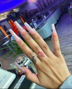 Aycrlic Nails, Nails 2017, Swag Nails, Bling Nails, Fancy Nails Designs, Acrylic Nail Designs, Red Ink Tattoos, Girly Tattoos, Time Tattoos