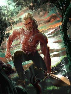 ArtStation - Witcher - Geralt of Rivia , Katja Škorjanc