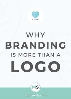 Branding is NOT just a logo. The logo is just a graphic symbol of your brand and business. Learn 4 reasons, why branding is more than just a logo