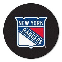 "New York Rangers Nhl Puck Mat (29"" Diameter)"