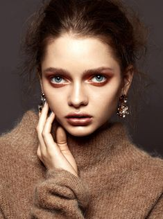 Katiusha by Franklin Thompson in Étincelles for Factice Magazine Exclusive March 2016 Makeup Inspo, Makeup Inspiration, Beauty Makeup, Eye Makeup, Hair Makeup, Hair Beauty, Makeup Hairstyle, Hairstyle Ideas, Women's Beauty