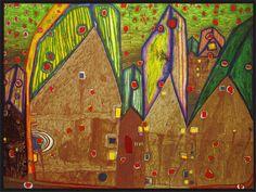 Hundertwasser-Paintings-1961-houses-in-rain-of-blood.jpg (2217×1669)
