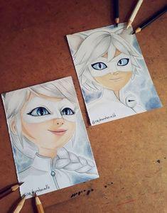 Miraculous Ladybug Kiss, Miraculous Ladybug Fanfiction, Comics Ladybug, Miraclous Ladybug, Anime Drawings Sketches, Realistic Drawings, Tim Burton Personajes, Miraculous Wallpaper, Art Drawings Beautiful