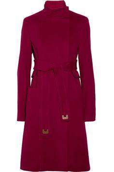 Diane von Furstenberg|Sabrina belted wool and cashmere-blend coat|NET-A-PORTER.COM