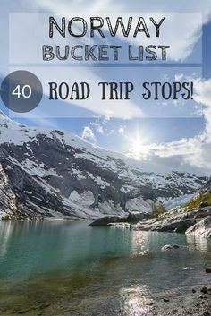 Norway road trip bucket list! 40 must see sights in Norway | check out Living to Roam for more travel tips | livingtoroam.com