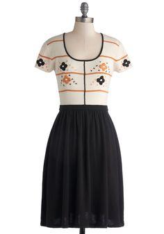 Everywhere You Look Dress | Mod Retro Vintage Dresses | ModCloth.com