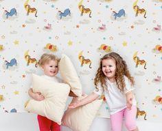 Pooh Rise and Shine Wallpaper Teen Wallpaper, Kids House, Shinee, Graham Brown, Toddler Bed, Kids Rugs, Bauhaus, Bunt, Unique