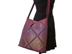 120 bag purse tote color light purple large by MANUELASEZIAM