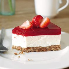 Erdbeerlimes-Frischkäse-Torte