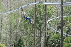 Zip Line Roller Coaster in Orlando!  SO want to do this!