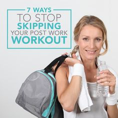 These are awesome tips to get me motivated to go to the gym when I'm not feeling like it! #postwork #workouts #afterworkworkout