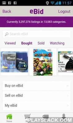EBid  Android App - playslack.com , eBid - Buy or Sell Just About Anything. Access the eBid Online Marketplace from the comfort of your Android Phone or Tablet. eBid is the low cost marketplace alternative with sale fees never higher than 3% and listing fees set to zero for nearly all listings. A great eBay alternative, sell your stuff using the simple selling system built into the app, just add a title, price and photo and your items will be placed up for sale on just your home eBid site or…