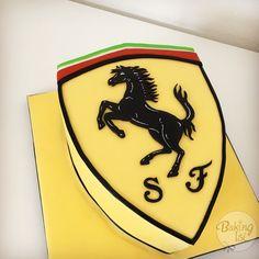 Ferrari cake, Torte, Logo, Fondant, Ferrari