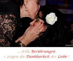 ... stille #Berührungen ~ zeigen die #Dankbarkeit der #Liebe !