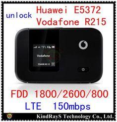 unlock Huawei E5372 Vodafone R215 4G LTE wifi router 4g mIFI lte 4g 3g Dongle pocket fdd  pk r212 e5377 e5577 e5776 e5878 e589  — 3429.13 руб. —