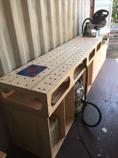 Ron paulk inspired mitre bench