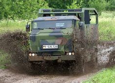 """The Bundeswehr Mungo is a joint project by Krauss-Maffei Wegmann and Multicar Waltershausen.  As the serval the mongoose was conceived as emergency vehicle for the """"Special Operations Forces"""" Bundeswehr."""