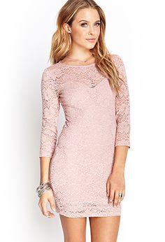 Floral Lace Sheath Dress  ce3219ad1