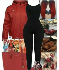 Super Fashion Style For Teens Swag Fall IdeasYou can find Teen swag and more on our website.Super Fashion Style For Teens Swag Fall Ideas Nike Outfits, Swag Outfits For Girls, Cute Swag Outfits, Cute Outfits For School, Teenage Outfits, Teen Fashion Outfits, Look Fashion, Trendy Outfits, Swag Fashion