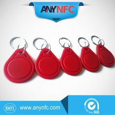 6PCS/lot Ntag 203 Red Color Keyfobs with Keychain For Arduino Android  http://gdtraders.com/products/6pcslot-ntag-203-red-color-keyfobs-with-keychain-13-56mhz-for-arduino-androidfree-shipping-now/