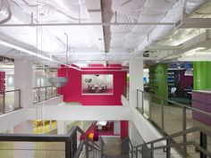 Inspiration: 35 Amazingly Bright, Bold, and Colorful Offices