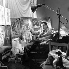 Salvador Dalí in his studio - Michael Ochs Archives/Stringer/Michael Ochs