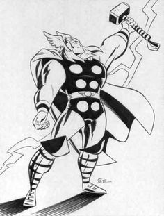 Thor by Bruce Timm