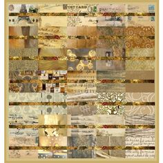 collage #neutral #quilt #collage #art