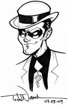 The Riddler by Todd Nauck.